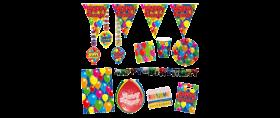 Geburtstagsdekoration Kindergeburtstagsdekoration