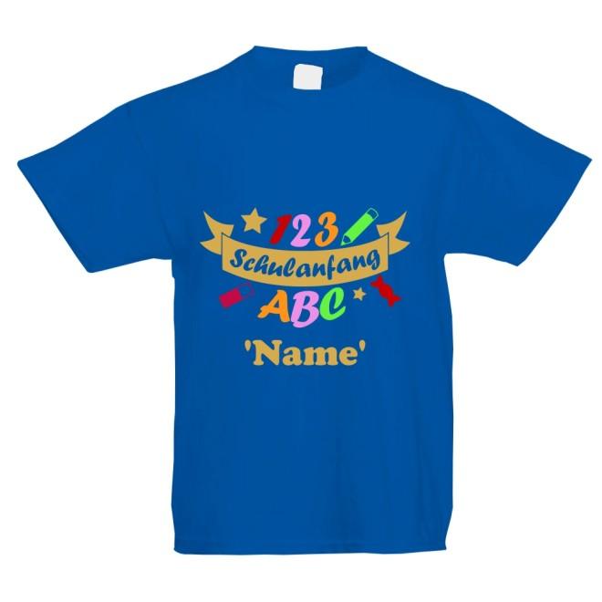 Sol/'s Kinder Rundhals T-Shirt PRINZ /& PRINZESSIN *Wunschzahl*Boy*Girl*bunt*