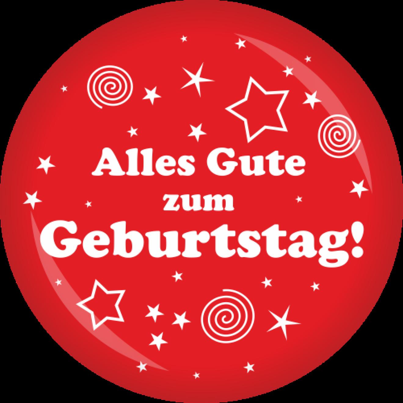Button Geburtstag Alles Gute Zum Geburtstag O 50 Mm