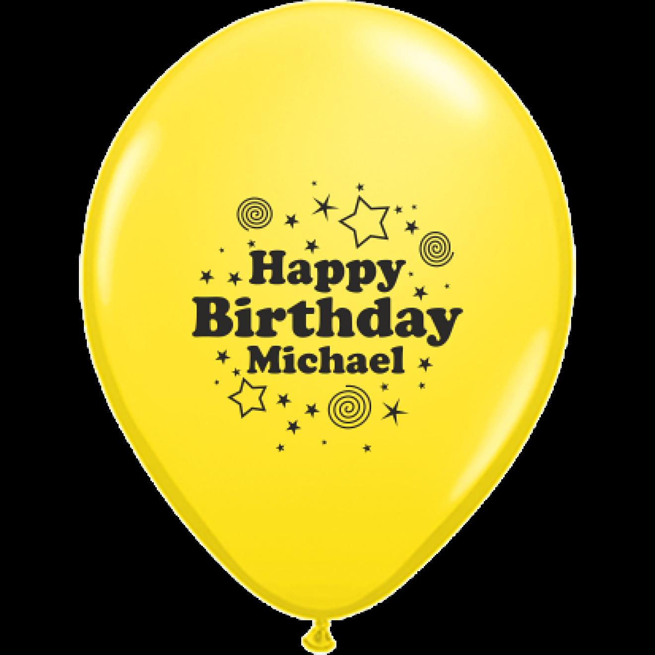 luftballons bedrucken geburtstag happy birthday name 30 cm ballondruck. Black Bedroom Furniture Sets. Home Design Ideas