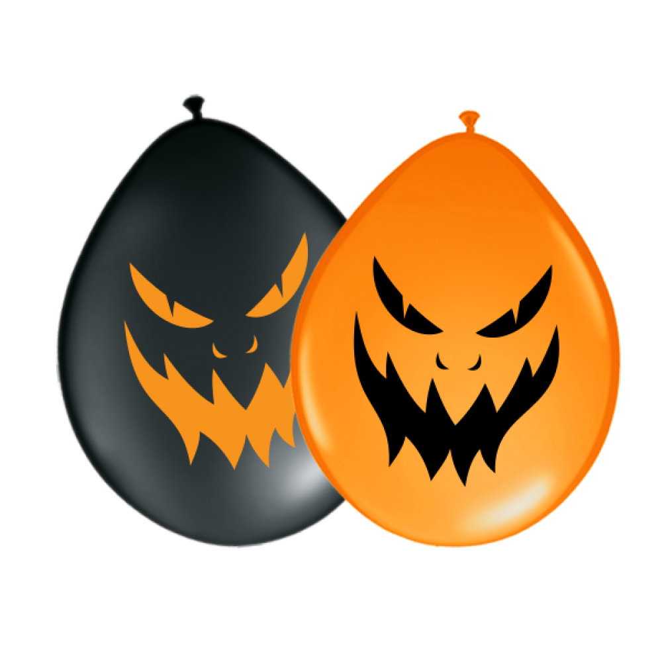 Balloons Halloween Evil Face O 30 Cm 100 Pieces