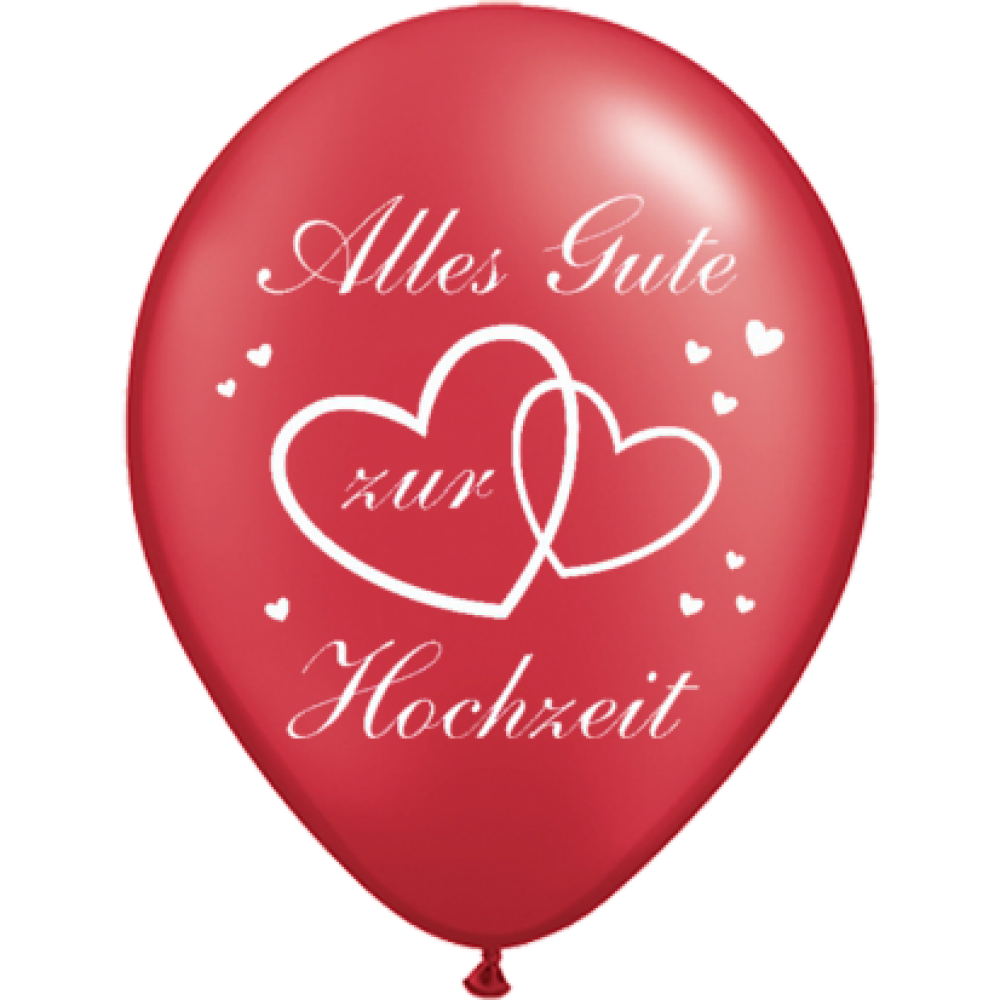 luftballons alles gute zur hochzeit 30 cm. Black Bedroom Furniture Sets. Home Design Ideas