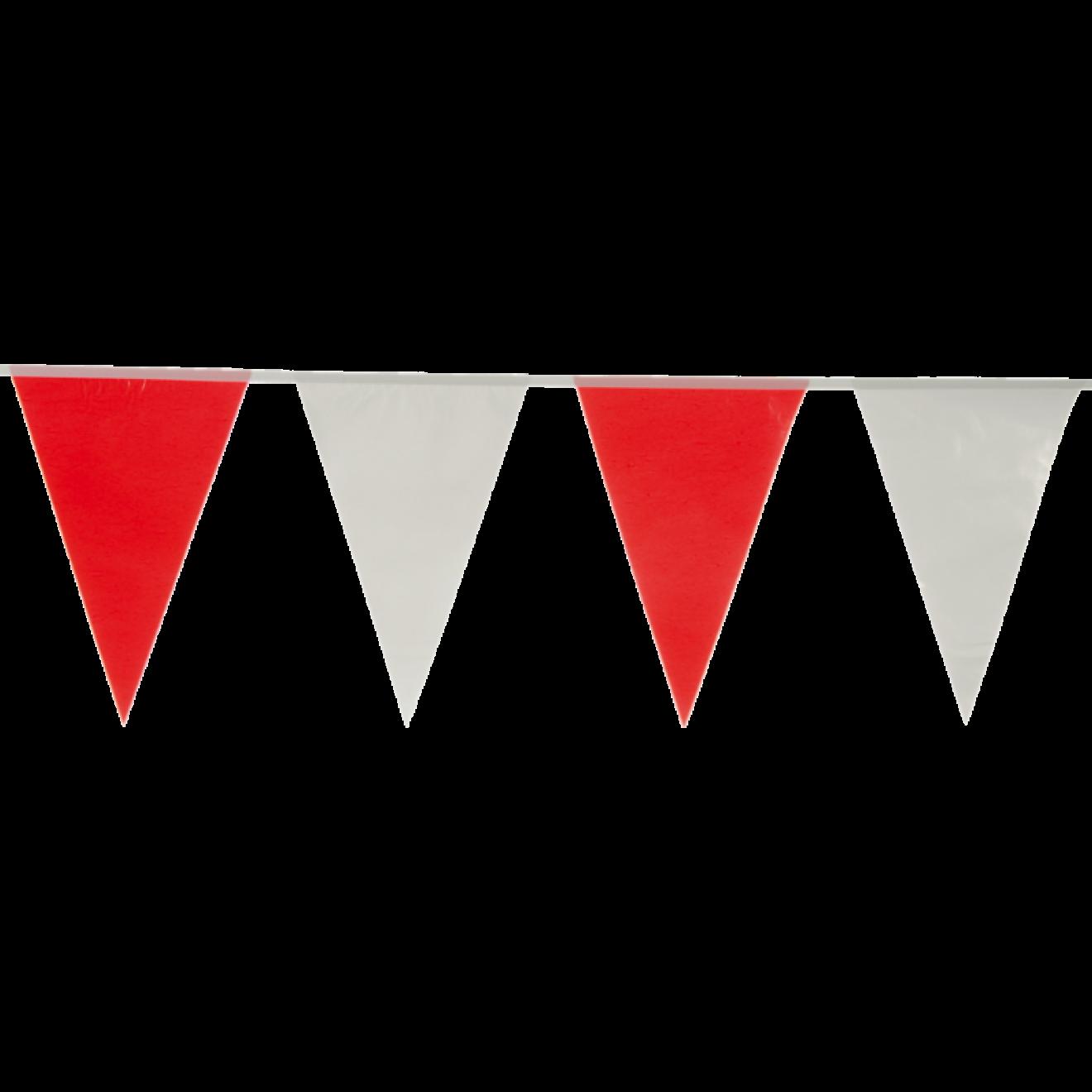 10 m Wimpelkette Wimpelgirlande Fahnenkette Party Geburtstag Deko Orange