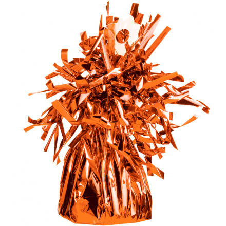 Luftballongewicht Folie - Orange 150 g - Qualatex -