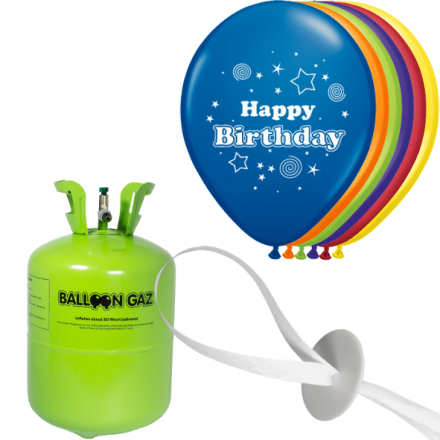 Helium set luftballons geburtstag happy birthday for Geburtstag set