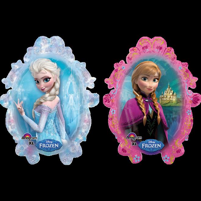 Folienballon Die Eiskonigin Frozen Anna Elsa 78 Cm