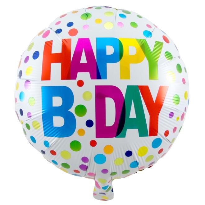 Folienballon Geburtstag Happy Birthday