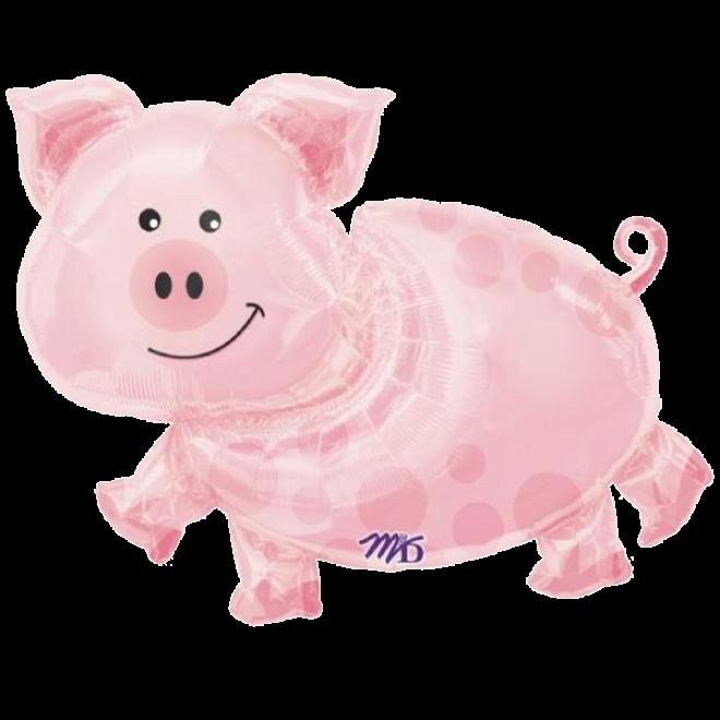 Ballonpost Xxl Silvester Neujahr Schwein