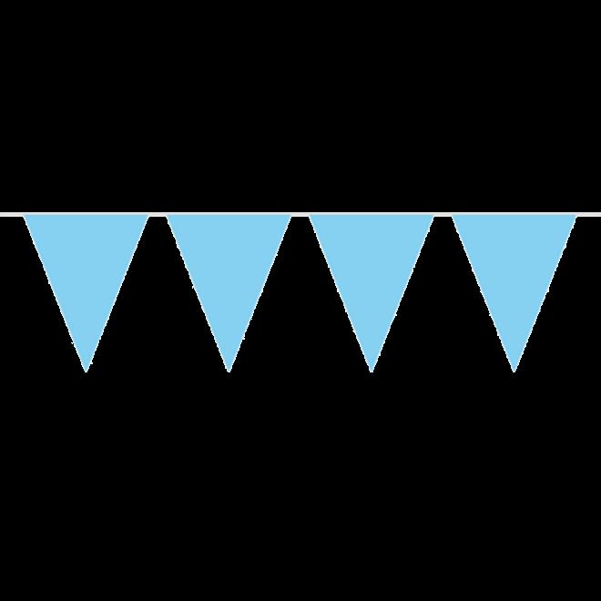 Flag Banner Light Blue Xl L 10 M H 43 Cm