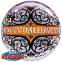 "Bubble Ballon ""Happy Halloween"" Ø 56 cm - Qualatex -"