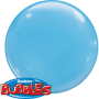 Bubble Ballon Hellblau Ø 38 cm - Qualatex - 4 Stück