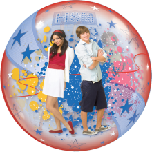 Bubble Ballon High School Musical Ø 56 cm - Qualatex -