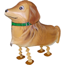 Folienballon Hund - Golden Retriever - Airwalker - 73 cm