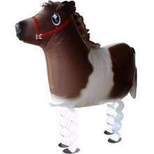 Folienballon Pony - Airwalker - 63 cm