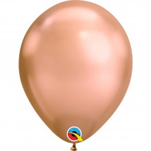 Luftballons Rose Gold (Chrome Rose Gold) Ø 28 cm - Qualatex -