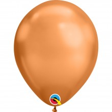Luftballons Kupfer (Chrome Copper) Ø 28 cm - Qualatex -