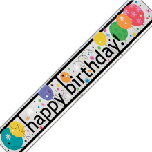 Banner Happy Birthday - Party 3,6 m