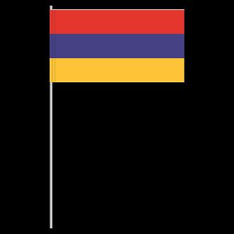 Papierfahnen Papierfähnchen Jamaika Flagge Fahne