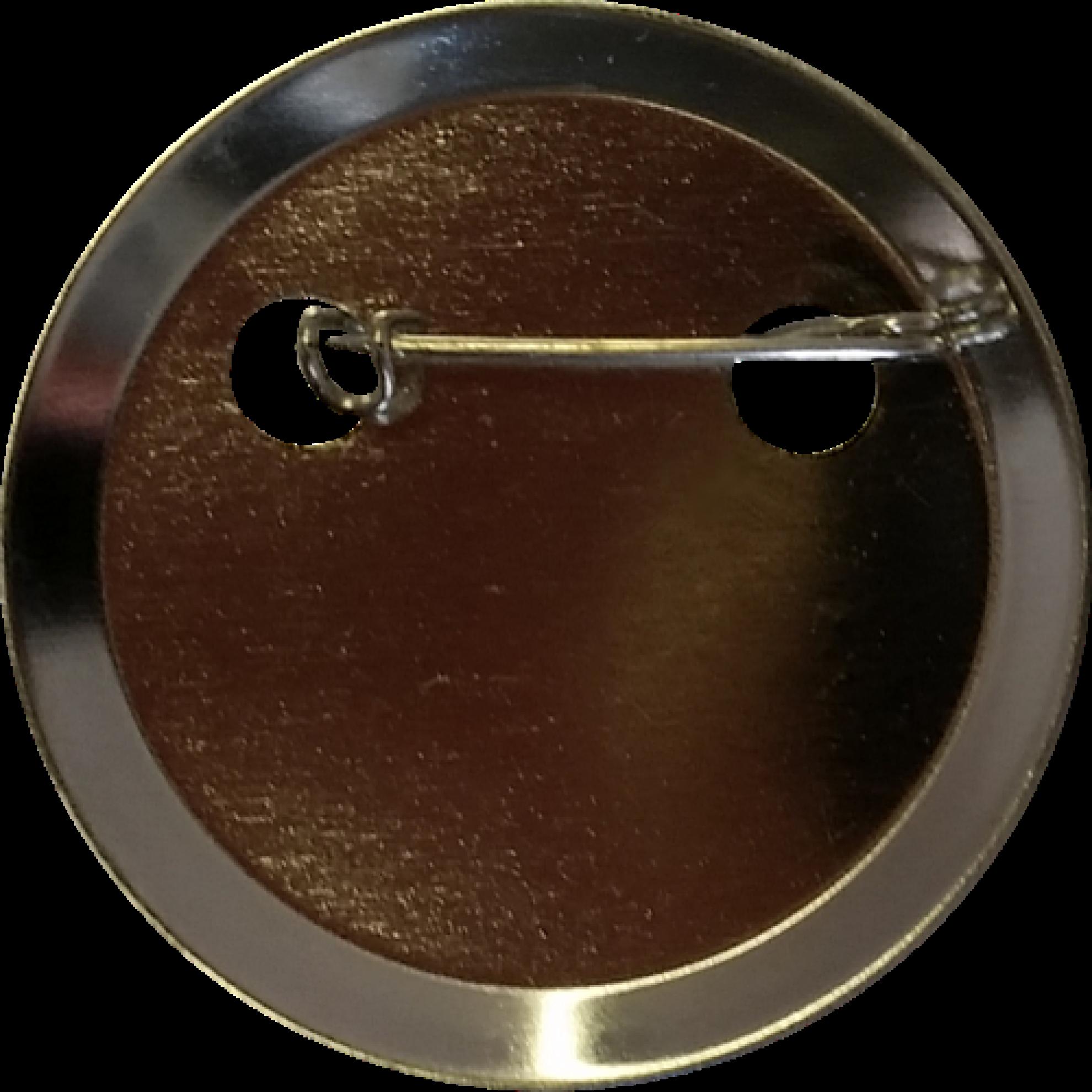 button 50 mm mit anstecknadel. Black Bedroom Furniture Sets. Home Design Ideas