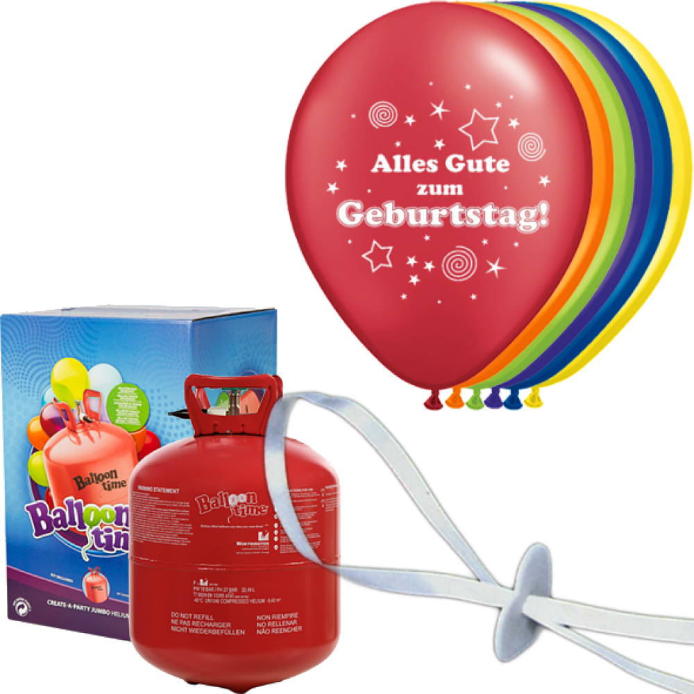 helium set luftballons geburtstag alles gute zum geburtstag. Black Bedroom Furniture Sets. Home Design Ideas