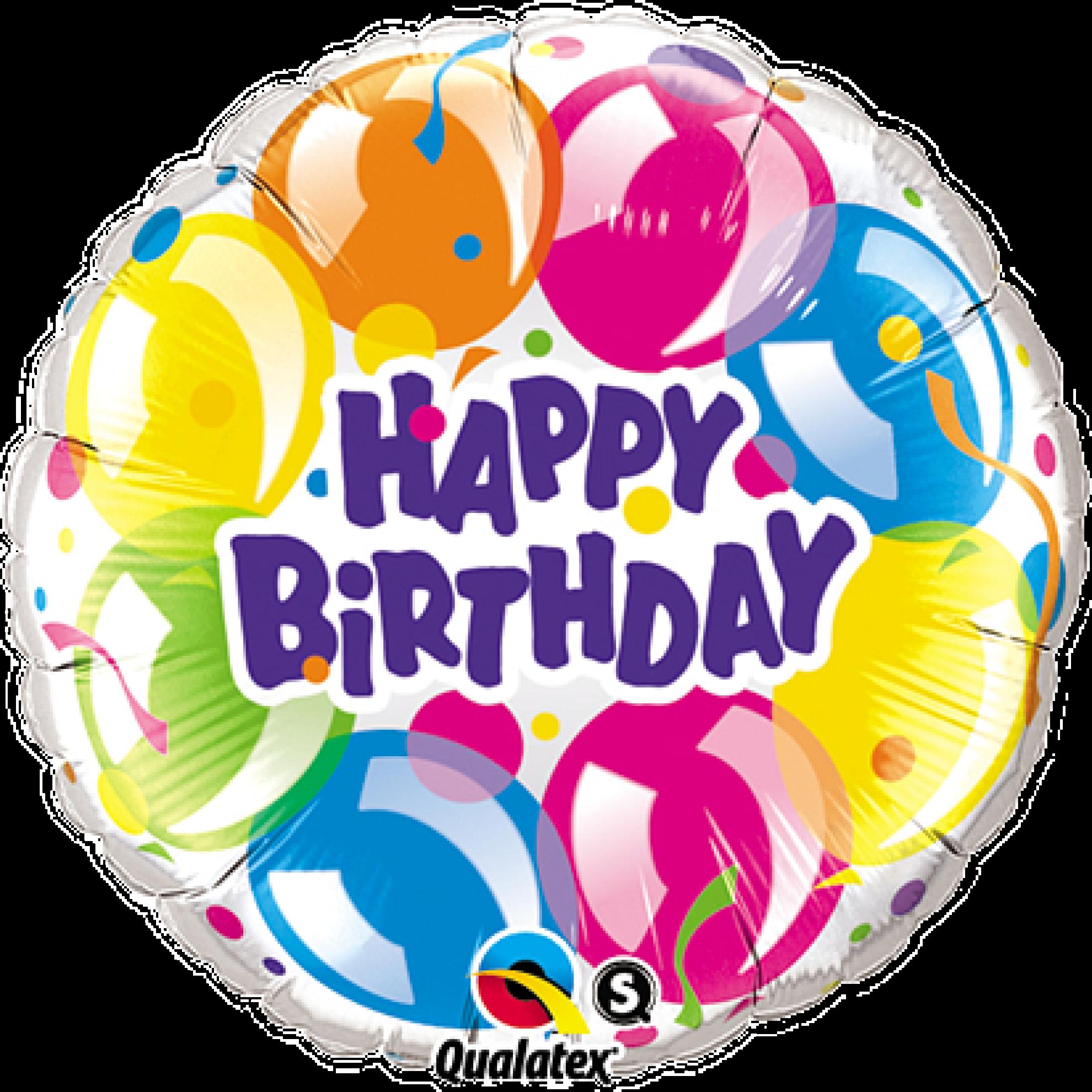 ballonpost geburtstag happy birthday funkelnde luftballons. Black Bedroom Furniture Sets. Home Design Ideas
