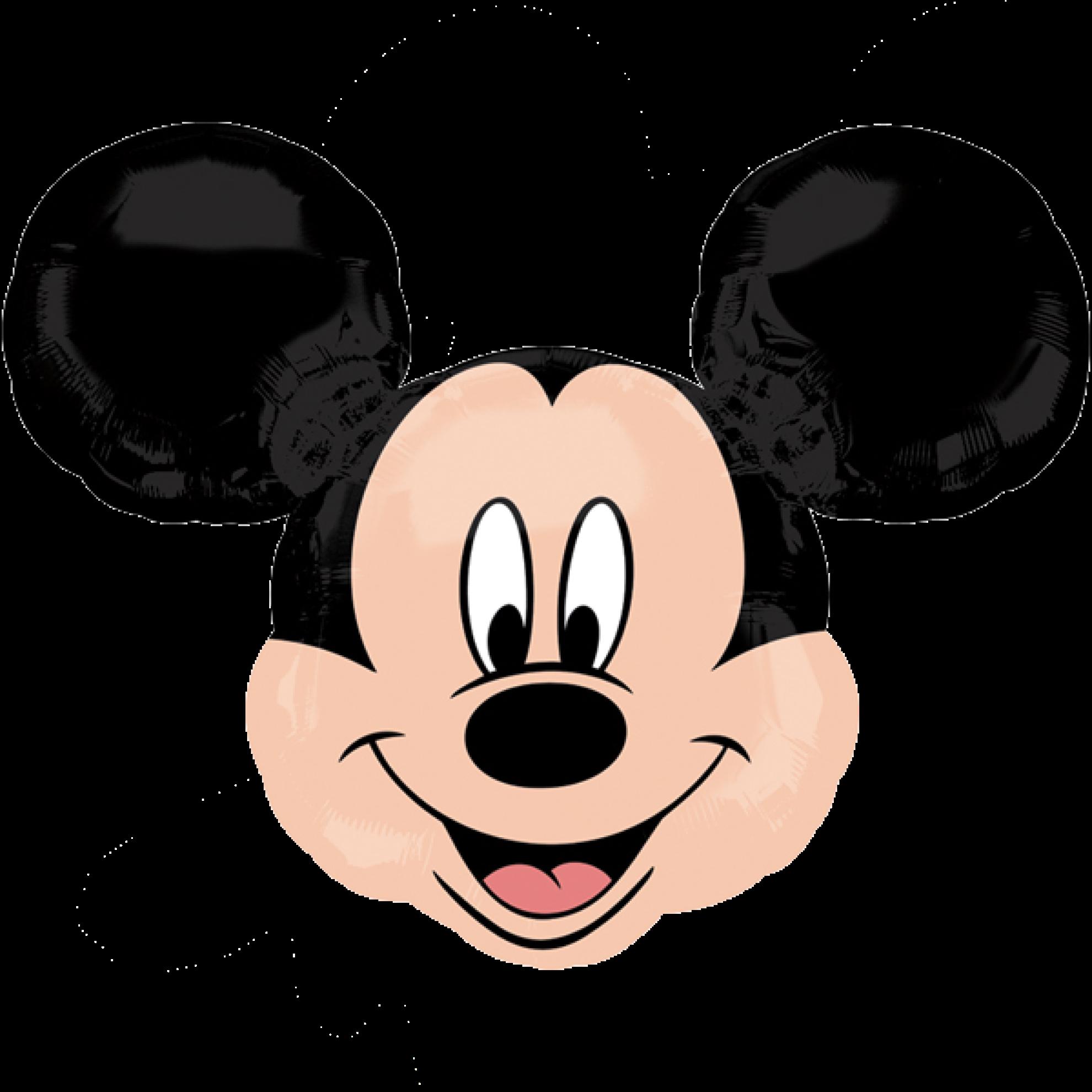 folienballon mickey mouse  kopf 2 69 cm