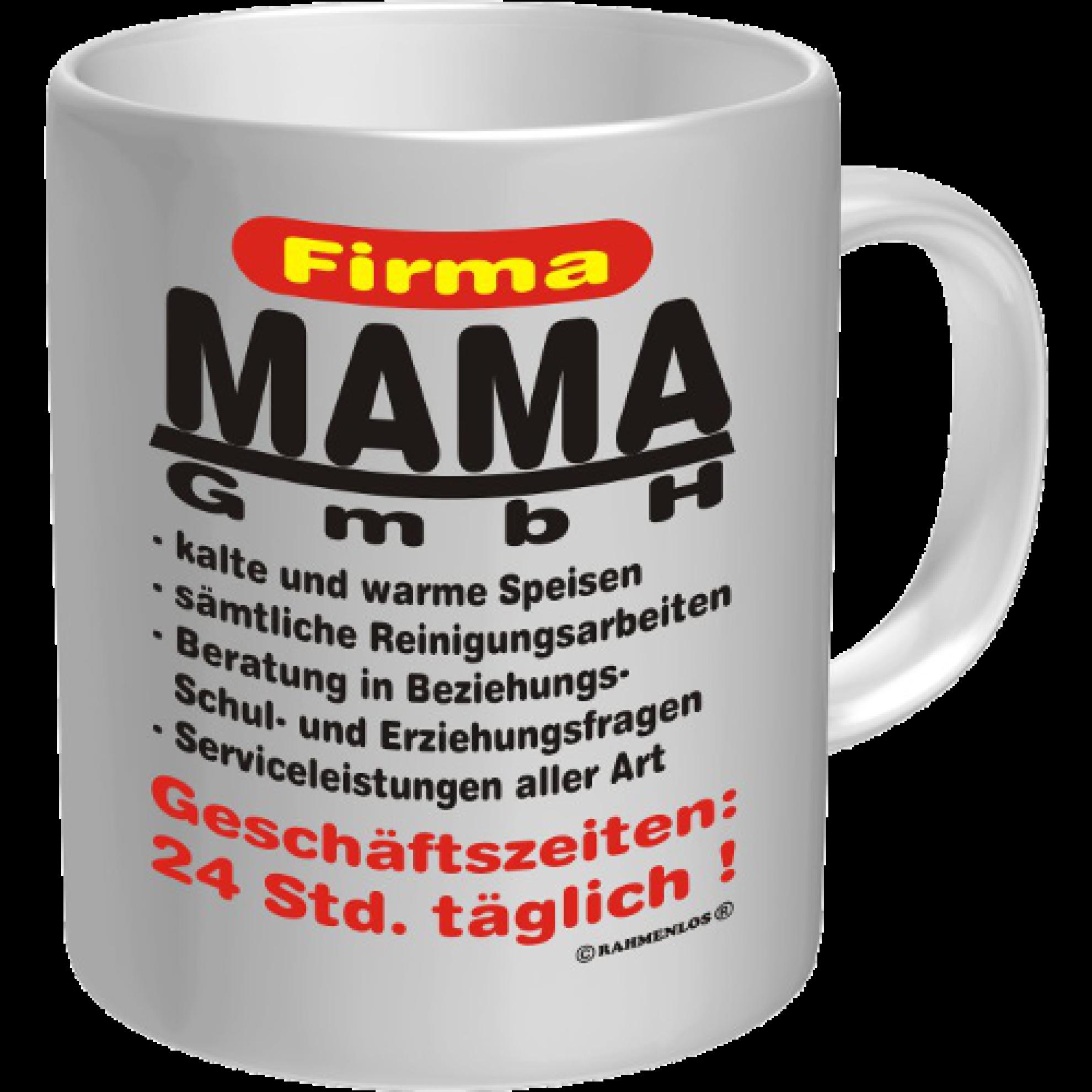 kaffeebecher tasse firma mama gmbh. Black Bedroom Furniture Sets. Home Design Ideas
